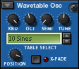 Thor's Wavetable Oscillator