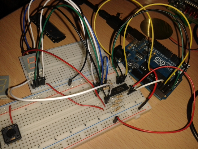 Arduino 7 Segment Display